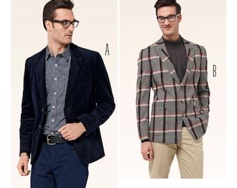 Burda Style Sewing PATTERN - B6872 - Men's Jacket - Sz 34-44