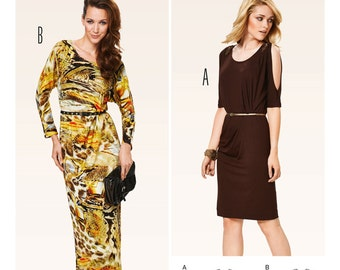 Burda Style Sewing PATTERN - 6919 - Dress - Sz 8 -18