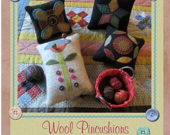 Wool Pincushions Pattern
