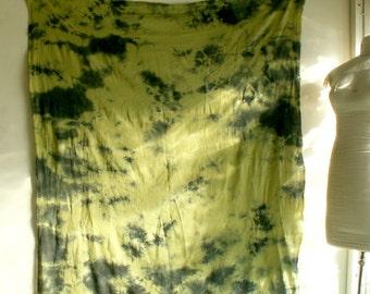 "Lichen Shadows 58"" x 58"" Scarf 2"