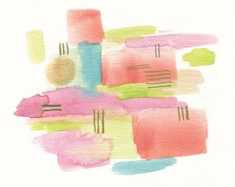 Better Days Watercolor Giclee Print