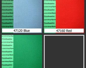"Zweigart - Aida Plus - 14 ct - assorted colors - 9"" x 12"" - 1 pkg"