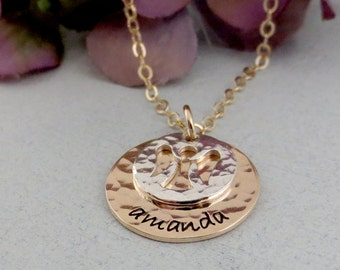 Personalized Angel Necklace - Memorial Necklace - Remembrance Jewelry - Silver Gold Angel Necklace - In Memory Of - Sympathy Gift For Her