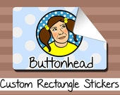 25 Custom Sticker Labels - 3x2, 4x3, or 6x4 Inch
