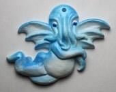 Blue Cthupid Ornament