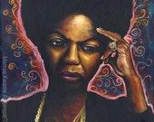 Nina Simone 12x16 Art Print