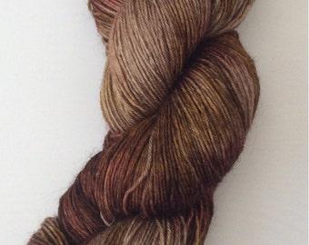 Chocolates are a Girls Best Friend - handdyed yarn 437 yds 3.5 oz