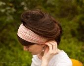 Liberty of London Garlands of Grace Print headcovering scarf headband
