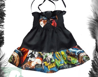 Babies/childs Movie Monsters Summer Dress.
