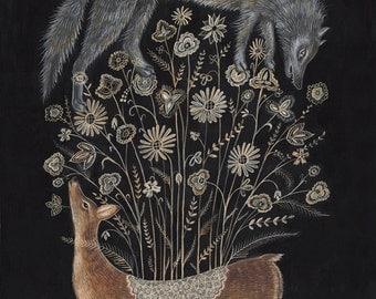 Delicate Deer - Print