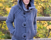 Reserved for Ye Wang-Women's Fleece Hooded Jacket