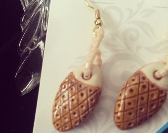 Pine Cone Insperation Earrings