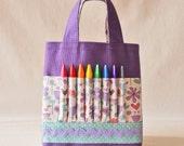 Crayon Bag Crayon Tote Art Tote ARTOTE Mini in Woodflower