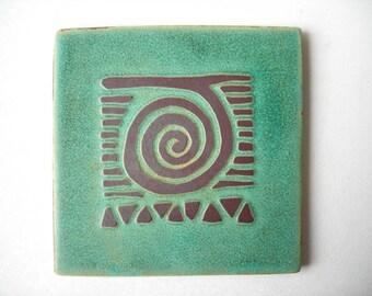 Handmade Relief Tile