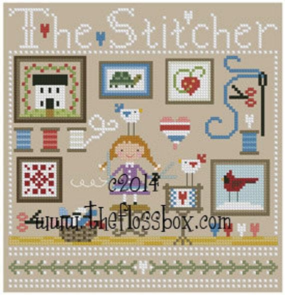 The Stitcher Cross Stitch Pattern