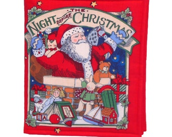 CLOTH / SOFT BOOK - The Night Before Christmas