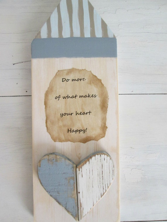 Wooden wall hanging quotes : Primitive wood wall art quote hanging recycled by lazydazefarm