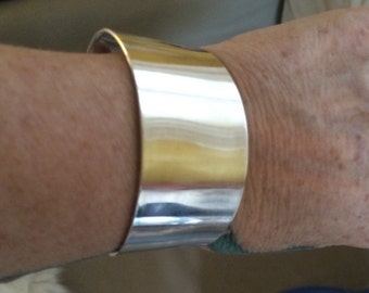 Sterling Silver Cuff 22g Bracelet 45.00