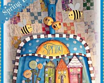 Apple Tree Cottage Original Design E Pattern  -  Spring Dustpan Hanger