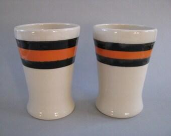 Tumbler Beer Mug San Francisco Giants Halloween Orange and Black