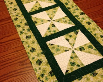 St Patricks Table Runner