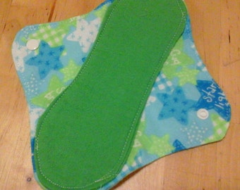 6 Moon-thly Pantyliners - Blue Green Starlight Starbright