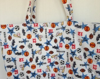 Large Tote-All Star Sports (Bag 522)