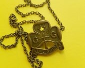 Antique Girl Guides Necklace