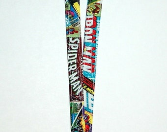 Lanyard - Handcrafted from Marvel Comic Superheroes (Ready To Ship)
