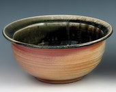 FREE SHIPPING Wood fired bowl for tea, chili, table, kitchen or incense WFB 2