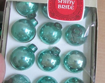 shiny brites christmas ornaments 1 inch
