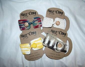 Crocheted Cotton Mug Cozy