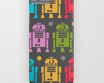 Phone case, Iphone case, Star wars phone case, R2D2 case, gift for boyfriend, Galaxy case, Case mate, Hard case