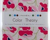 SALE 5 inch charm pack COLOR THEORY Moda Fabric by V and Co.