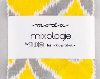 SALE MINI charm pack MIXOLOGIE Moda Fabric by Studio M