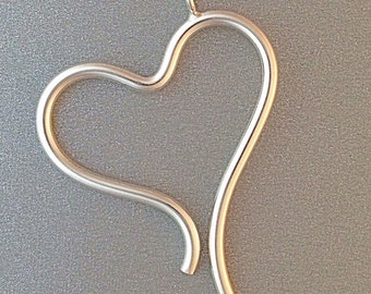 Wave Heart Pendant