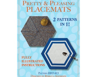 Pretty & Pleasing Placemats Sewing Pattern