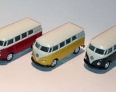 1962 Welly miniature Volkswagon  classic bus in Yellow Only