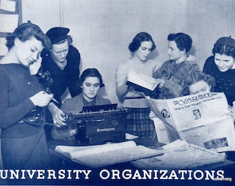 University of Toronto  Torontonensis Yearbook  Toronto Ontario Canada Class of 1938