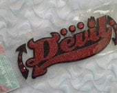 Jolee's Boutique Title Waves DEVIL GLITTER Sticker Embellishments CLEARANCE
