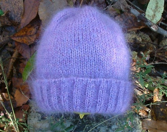 Soft Wool and Mohair Watch Cap