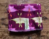 Lunch Wrap.  Luna Moth.