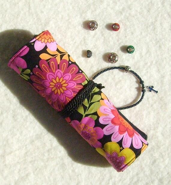 Pandora Jewelry Roll: For Pandora-style: Anti Tarnish Jewelry Roll In Fun By