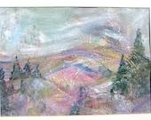 California Expressionist Landscape