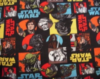 Star Wars NoSew Fleece Blanket with Reusable Gift Bag Tote