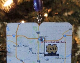 Notre Dame keepsake/ornament