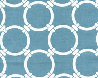 Premier Prints Fynn Regatta- Fabric by the Yard - Clearance Fabric - Home Decorating Fabric Blue Fabric Moroccan Tiles - Blue Fabric