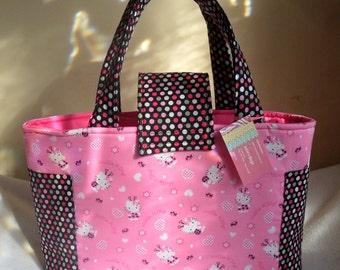 Large Hello Kitty Ladybug Diaper Bag Tote