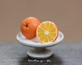 Orange Earrings - Fresh Fruit Jewelry - Healthy Collection