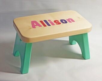 Personalized Multi-color Children's Stool